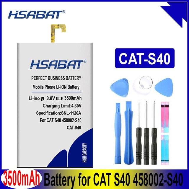HSABAT 2800mAh-6050mAh per Caterpillar CAT S60 S30 S40 S50 APP-12F-F57571-CGX-111 CUBA-BL00-S50-000 Batteria per il GATTO B15 B15Q AM