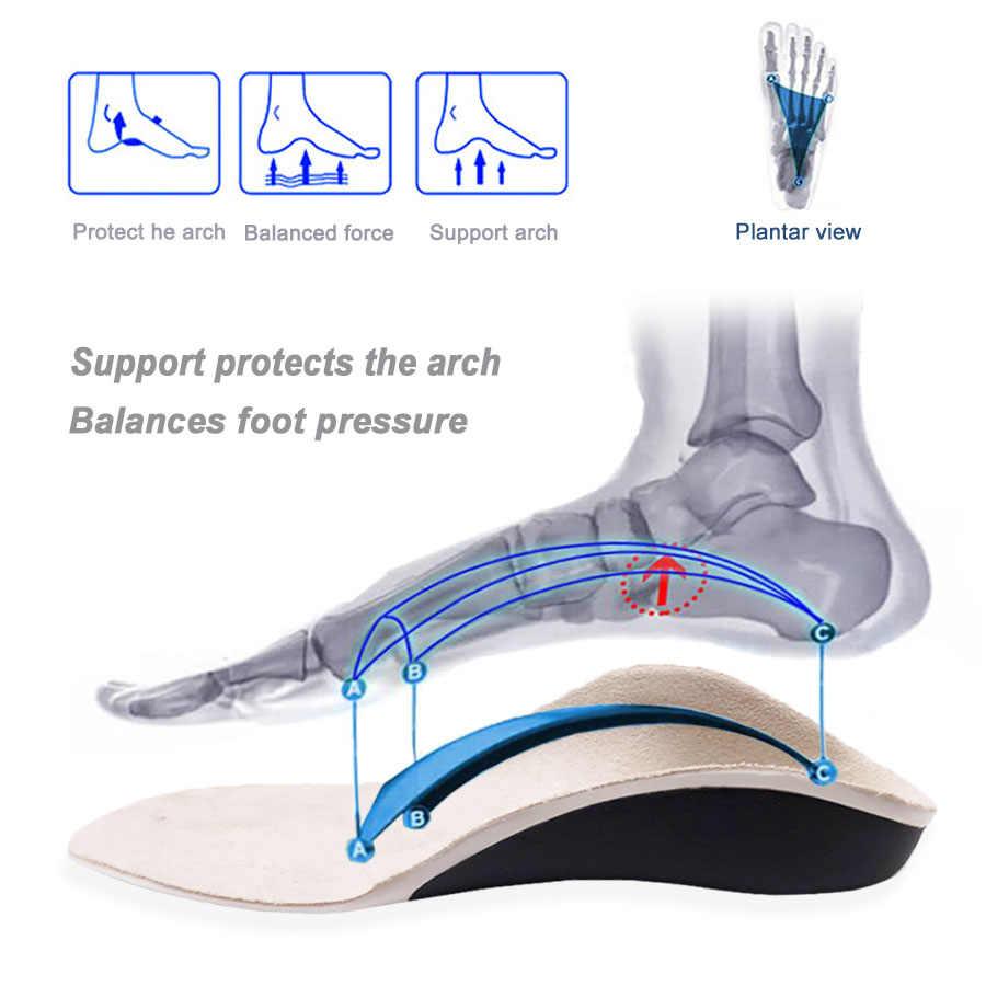 3D Orthopedische Inlegzolen Platvoeten Voor Kinderen En Kinderen Arch Ondersteuning Binnenzool Voor X-Benen Orthopedische Schoen Hak Pad inserts