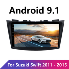 Android 9inch Für SUZUKI SWIFT 2011 2012 2013 2014 2015 Multimedia Stereo Auto DVD MP5 Player Navigation GPS Radio BT