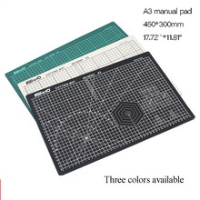 Cutting-Mats Craft Paper Diy-Tools Self-Healing Patchwork PVC A3 Double-Sided