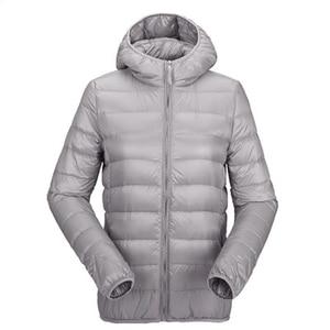 Image 5 - Zogaa Womens Autumn Winter Jacket Ultra Light Down Jacket Women Windproof Warm Clothes Packable Down Coat Plus Size Women Parkas