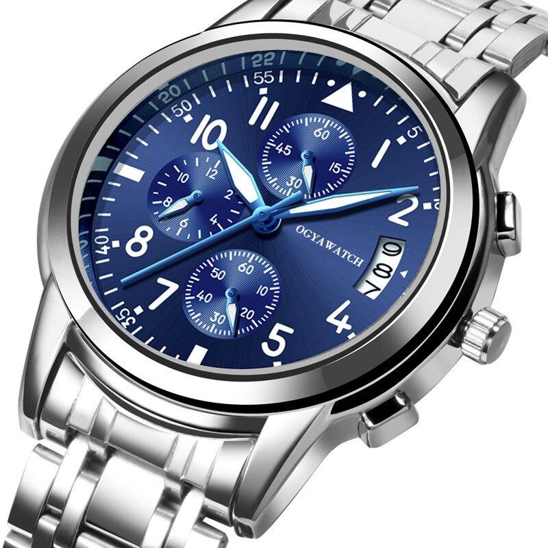 2019 New Business Male Clock Retro Design Leather Band Analog Alloy Quartz Wrist Watch Digital Dial Luxury Men's Watches Saat