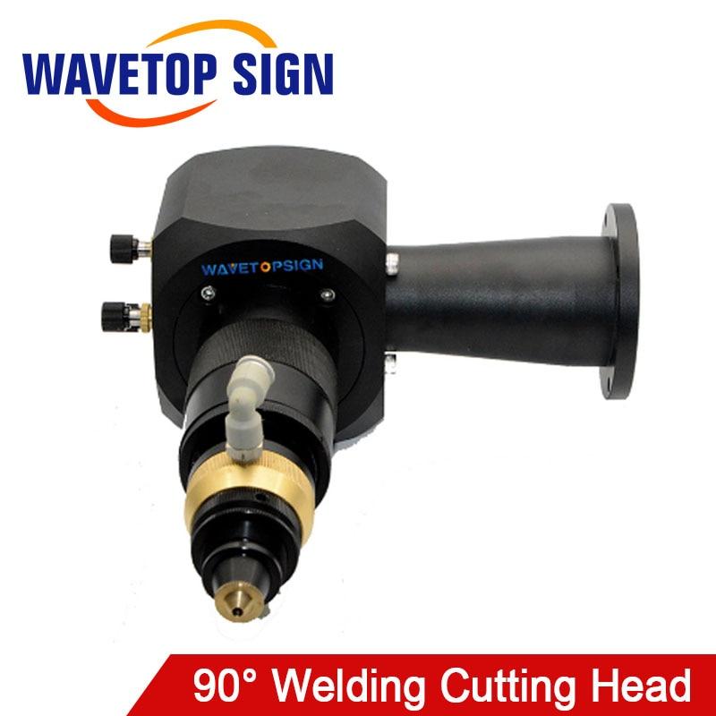 WaveTopSign 90° Welding Cutting Head For YAG Laser Welding Machine