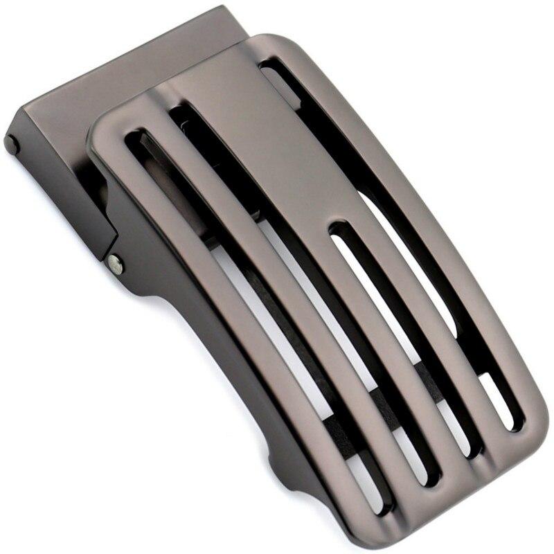 Genuine Men's Belt Head, Belt Buckle, Leisure Belt Head Business Accessories Automatic Buckle Width 3.5CM Luxury LY155-561749