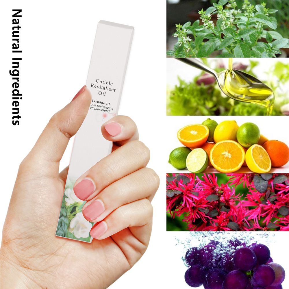 8 Smell Nail Nutrition Oil Pen Nail Treatment Pen Cuticle Revitalizer Oil Prevent Agnail Nail Polish Nourish Skin Protector