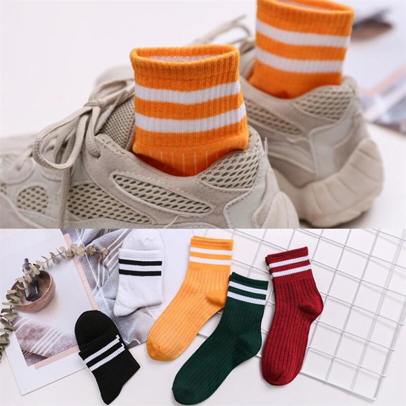 1 Pair Socks Women's Tube Socks Autumn And Winter Breathable Comfortable Sports Socks Women's Socks Summer Tide Socks