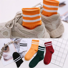 1 pair Socks women's tube socks autumn and winter breathable