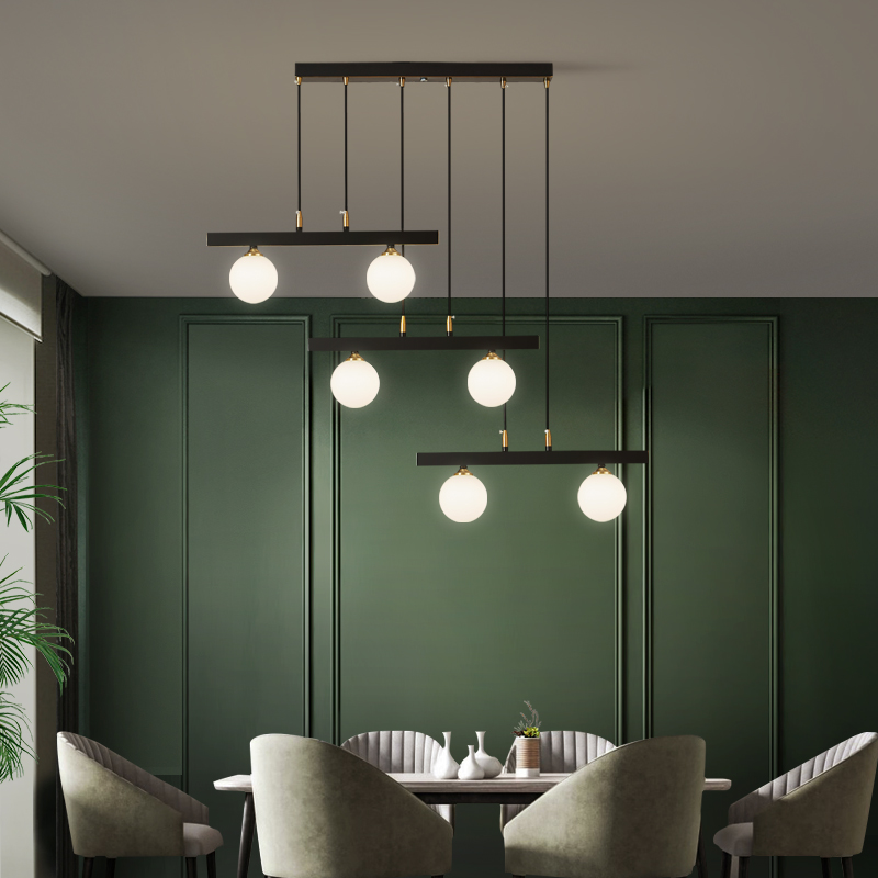 Copper Luxury LED Chandelier Dining ...