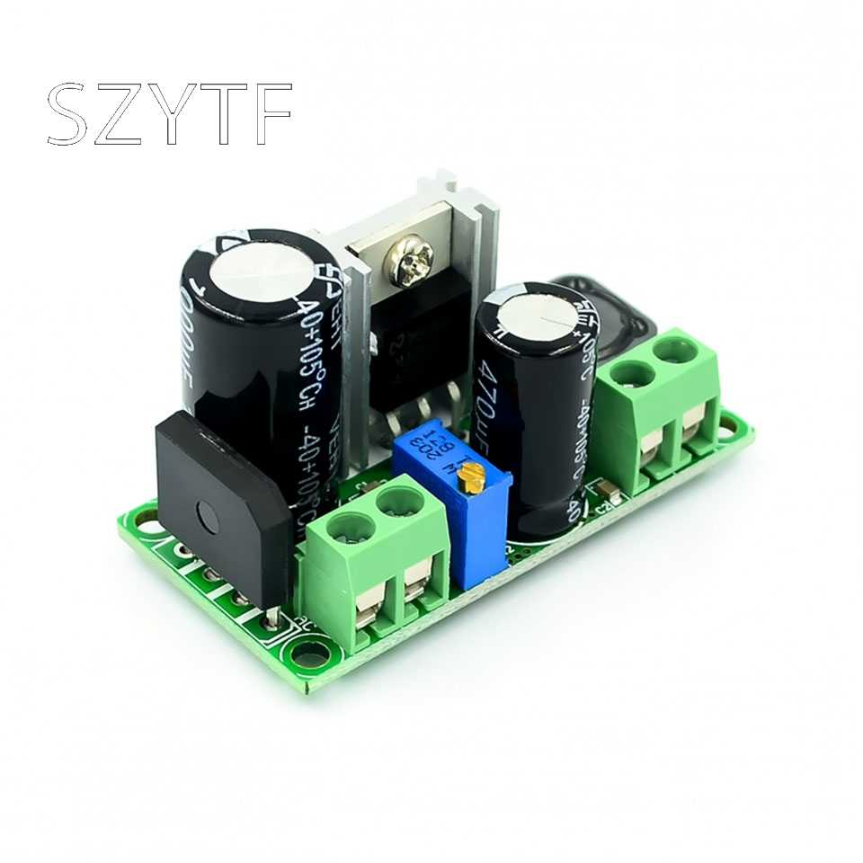 Lage Spanning AC-DC Step-Down DC-DC Power Modules Verstelbare Voeding LM2596HV Supply Module