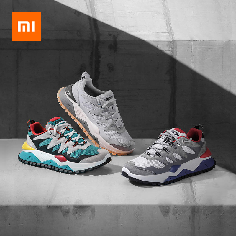 Xiaomi Classic Chunky Sneaker Trendy Men Women Couples Sneakers Soft Platform Sneakers Casual Street Sport Running Shoes