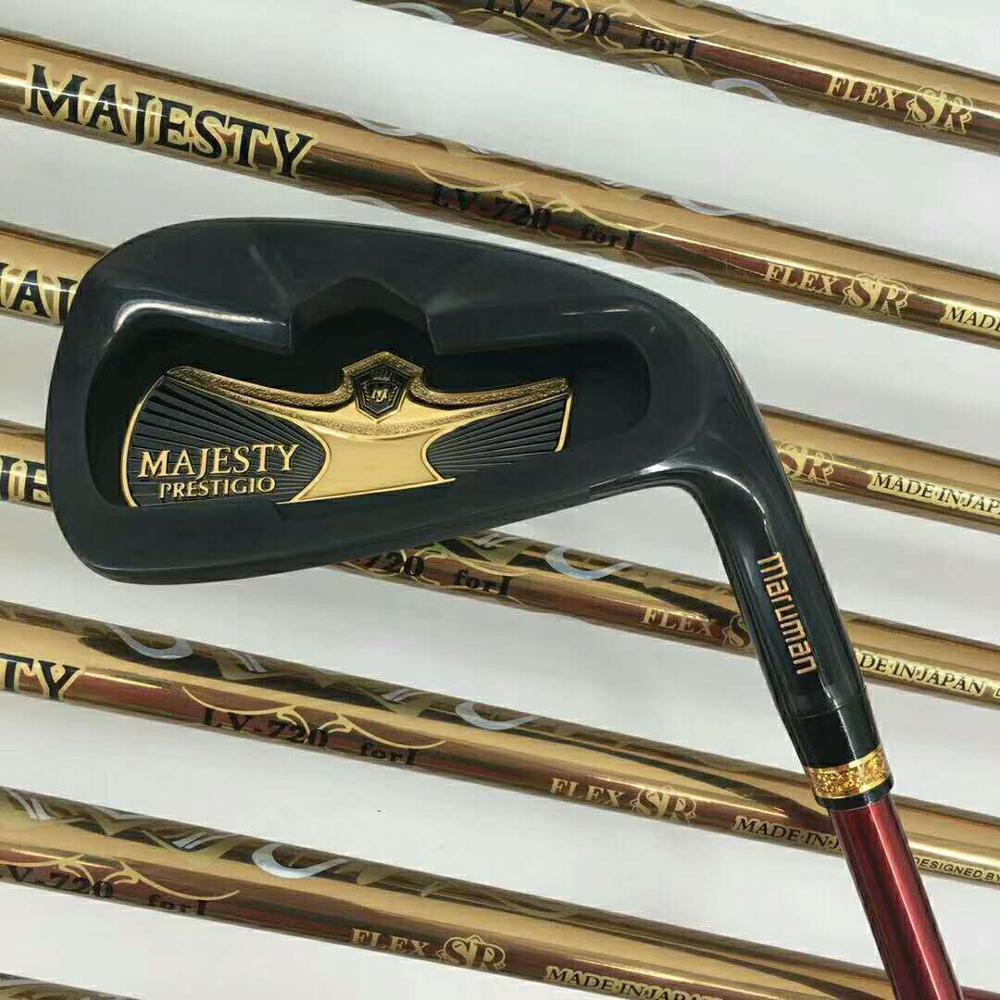 New Golf clubs set Maruman Majesty Prestigio 9 Golf Complete Set 9 5 or10 5 loft Graphite Golf shaft Free shipping 5