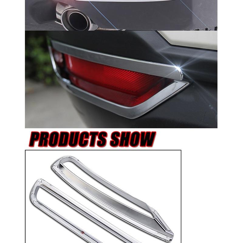 Chrome Rear Fog Light Cover Trim for 2014-2018 SUBARU FORESTER new