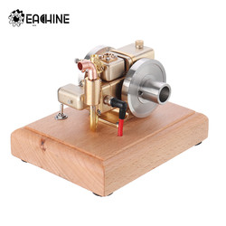Eachine ET5 Brass And Stainless Steel Mini Engine Stirling Engine Model Water-cooled Cooling Structure