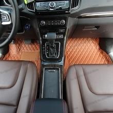 цена на lsrtw2017 leather car floor mats for lifan x70 320 520 630 x60 x50 720 820 x80 x7 xuanlang rug carpet interior accessories myway