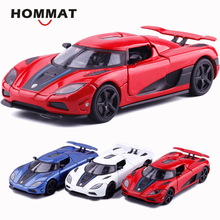 HOMMAT Simulatie 1/32 Supercar Koenigsegg Agera R Sport Legering 1:32 Diecasts & Toy Vehicles Auto Model Auto Speelgoed Voor Kinderen