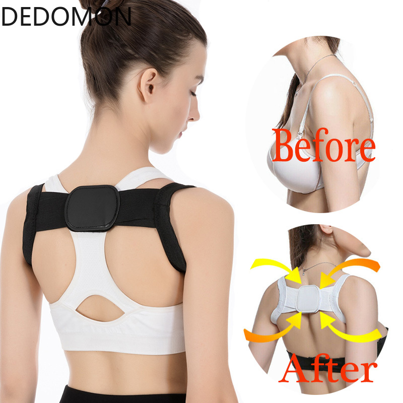 Back Posture Corrector Shoulder Lumbar Brace Spine Corrector Shoulder Neck Support Strap Belt Back Pain Reliever Health Care