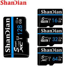 Original SHANDIAN Speicher karte 128GB 64G microsd tf karte 32G 16G SDXC SDHC Micro sd karte cartao De Memoia freies verschiffen-auto