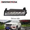 1649060151 передний левый светодиодный дневный ходовой светильник DRL для Mercedes W164 X164 X204 ML350 ML450 GL450 GLK350 2009 2010 2012