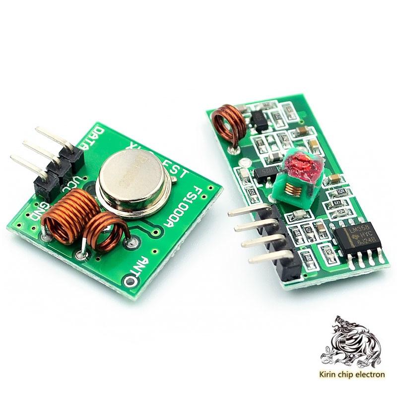 5pcs/lot 5 V Super Regenerative Receiver Module / Wireless Receiver Module / Wireless Transmit Module 433/315MHZ