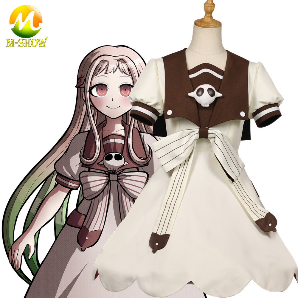 Anime Girl Cosplay Dresses Toilet-bound Hanako-kun Nene Yashiro Cosplay Costume School Uniform Dress For Women
