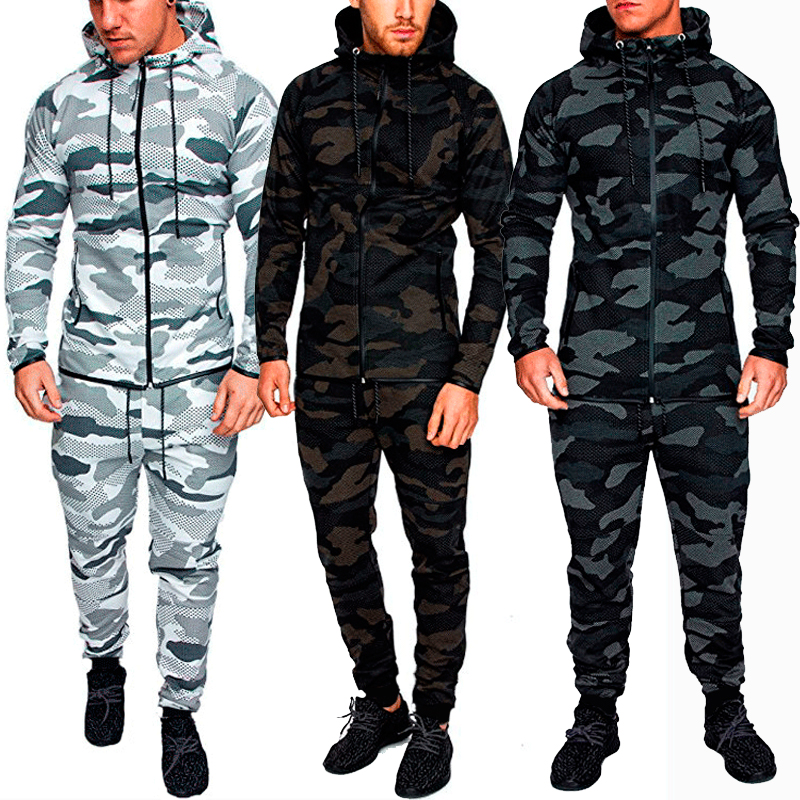 New Anti Mosquito Winter Fishing Running Sport Clothes Men Outdoor Camouflage Jacket Heat Sublimation Clothing Cardigan Coat