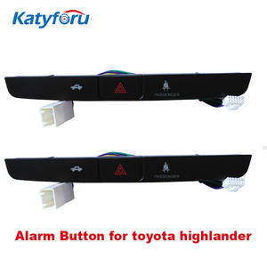 Emergency-Stop-Button Highlander Toyota Original for Alarm-Button Plug-To-Plug Car Black-Color