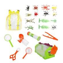Открытый Набор исследователя для детей игрушки захвата насекомых