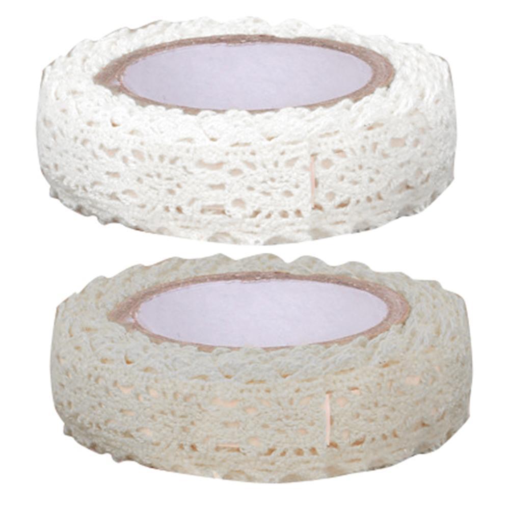 170cm DIY Lace Trim Striping Masking Stylish Tapes Self Adhesive Decorative Sticker