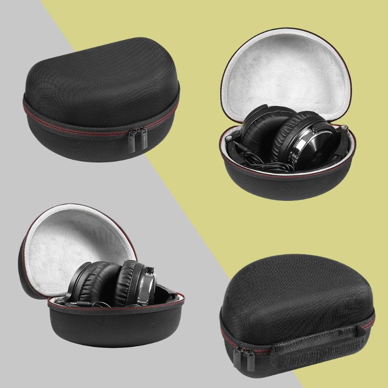 EVA Protective Cover Case Storage Handbag for OneOdio Adapter-Free Closed Back Over-Ear DJ Stereo Monitor Headphone image