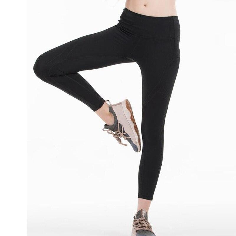 2020 Women Sports Tight Sexy Gym mesh Legggings Quality 4 Way Stretch Fabric 2