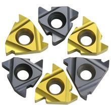 10pc CNC internal thread cutter blade 22ir N60 / N55 / 3.5/4/4.5/5.5/6 steel turning tool blade stainless iron thread cutter