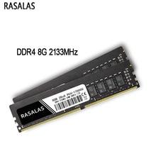 Memoria Desktop 2666mhz 19200 2133 17000mhz 288pin 2400 21300 PC 8G 4G Rasalas DDR4 16-Ram