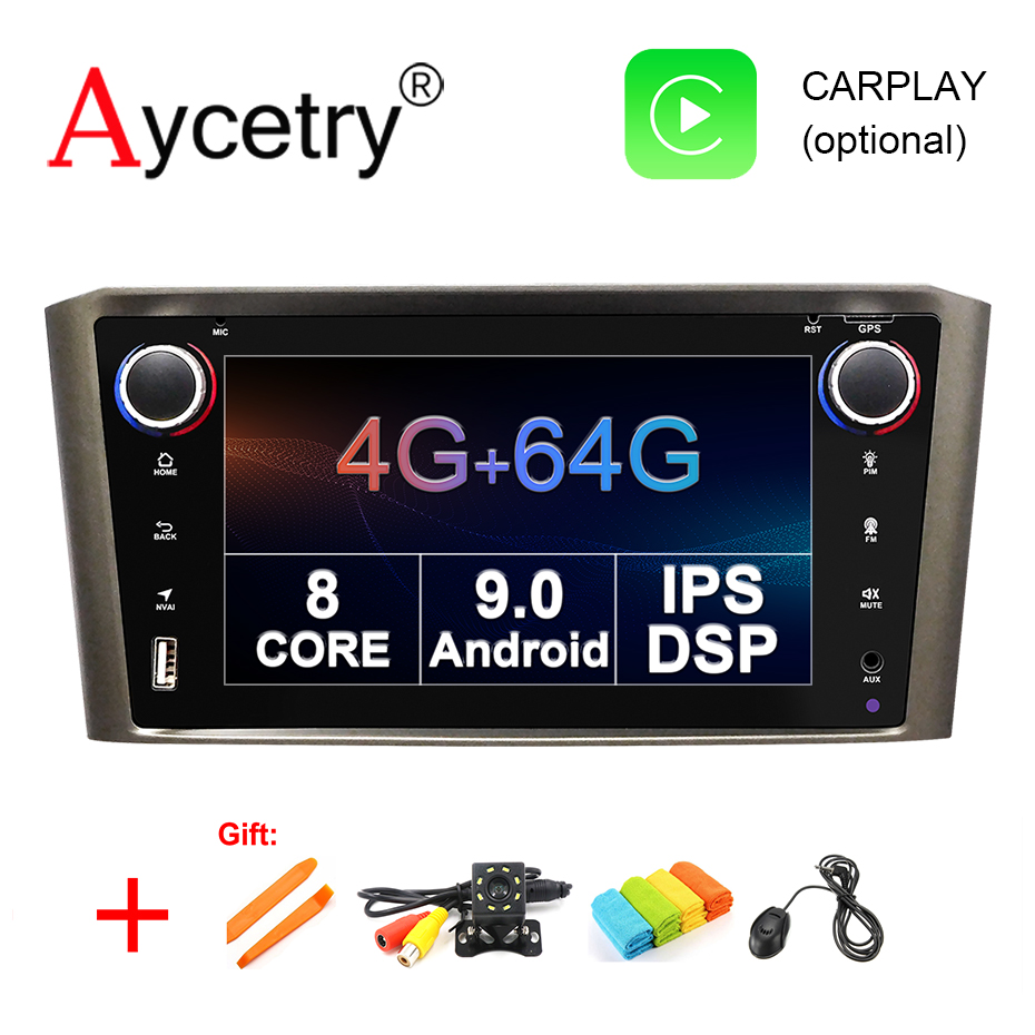 DSP IPS 8 core 4G 64G 2 din Android 9 Car radio Multimedia player dvd GPS
