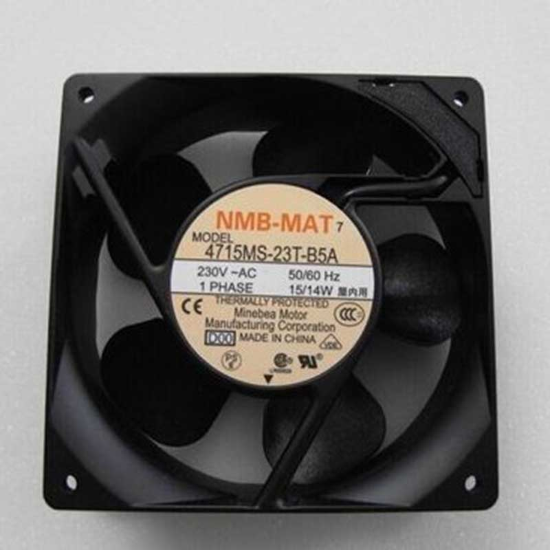 NEW NMB-MAT Minebea 4715MS-23T-B5A D00 12038 230V 12CM Cooling Fan Free Shipping