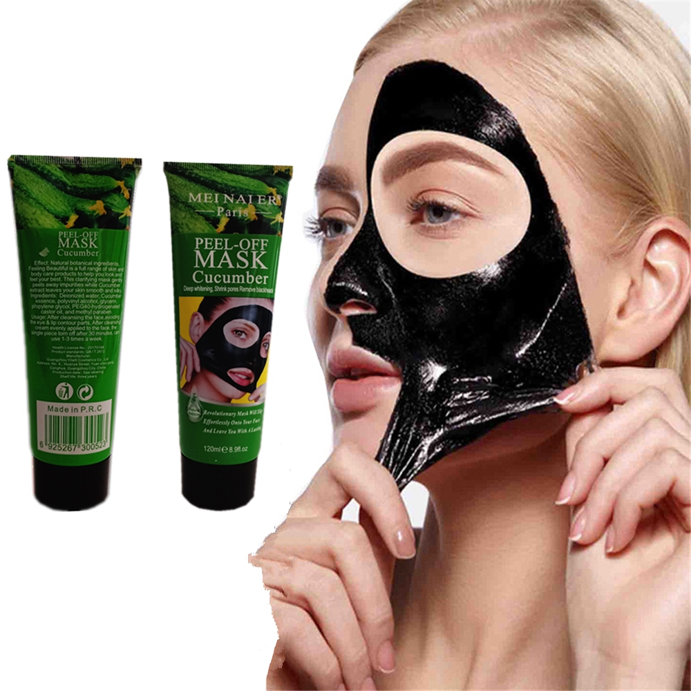 Black Mask Facial Clean Deep Clean Whitening Maquiagem Handmade Skin Care Bath Body Removal Honey Cucumber Oil Beauty Face Mask