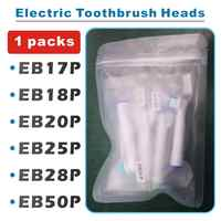 4pcs Replacement Brush Heads For Oral B Electric Toothbrush Advance Power/Pro Health/Triumph/3D Excel/Vitality Precision Clean