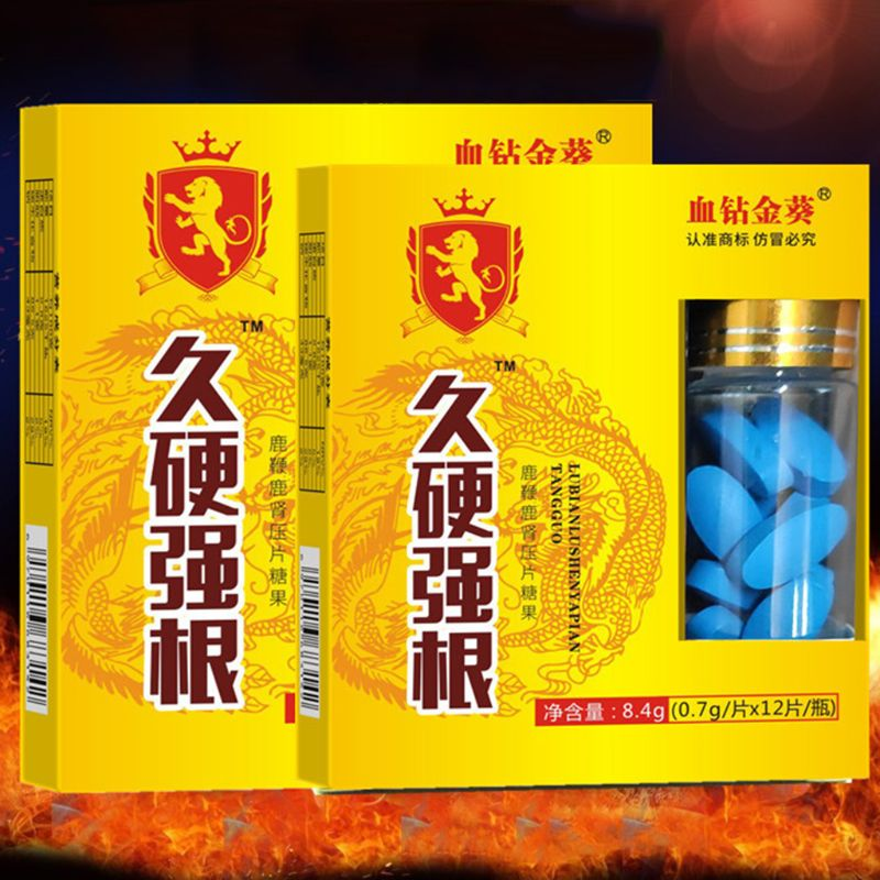 2020 New 12Pcs Natural Herbal Deer Whip Male Medicine Tablets Improve Sexual Function