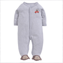 Cuddle me Baby Rompers Retail Baby's Pajamas Babywear Tights Baby Clothes Cotton Toddler Body suits стоимость