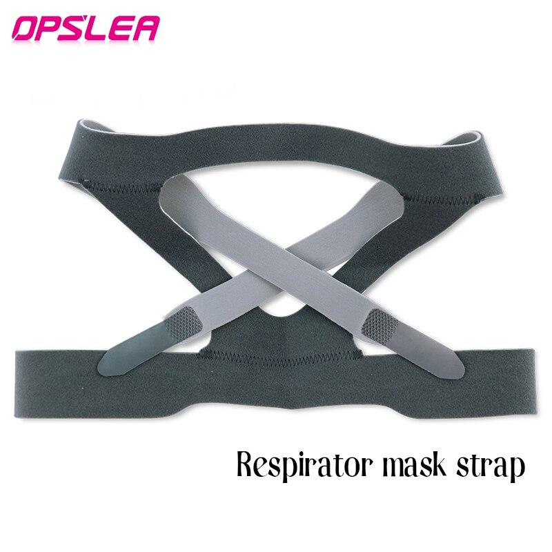 Dedicated Headgear For CPAP Masks Elastic Fiber Anti-snoring Headband Universal Nasal Mask Head Belt Face Mask Strap For Medical