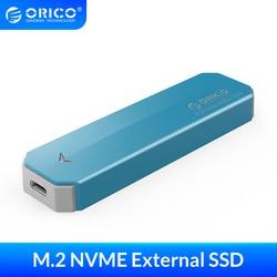 ORICO M2 NVME внешний SSD жесткий диск 1 ТБ 128 ГБ 256 ГБ 512 ГБ M.2 NVME мобильный портативный SSD 1 ТБ внешний твердотельный накопитель