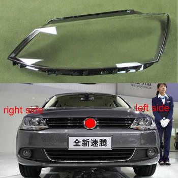 For Volkswagen VW Jetta (Sagitar) 2012 2013 2014 2015 2016 2017 2018 Headlamp Transparent Lampshade Front Headlight Shell Cover