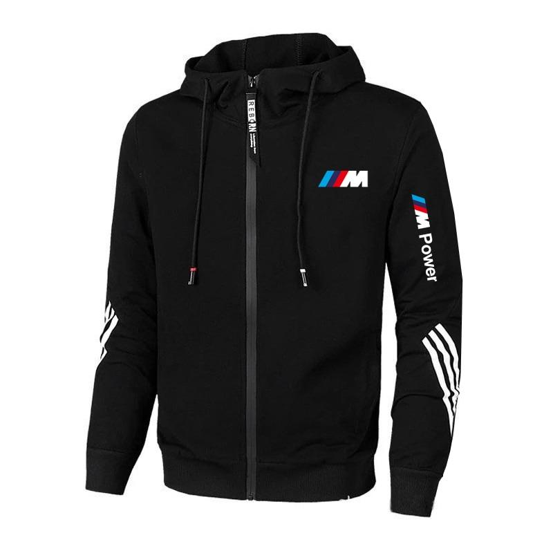 2021 New BMW M Brand Power Men's Clothing Outdoor Sweatshirt Casual Male Jacket Hoodies Quality SportWear Harajuku Outwear