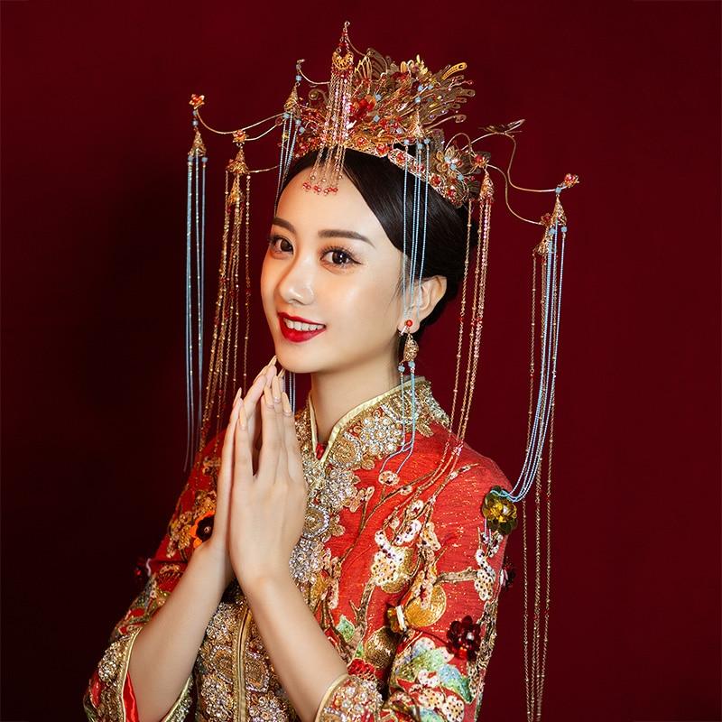 Новый Полный AAA Украшенные фианитом Корона невесты тиара имитация жемчуга свадебная корона для женщин Свадебные аксессуары для волос голов... - 3