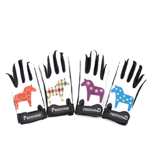 Ridind-Gloves Riding-Equipment Silica-Gel Equitation Cheval-Horse Non-Slip 2-12-Years-Old