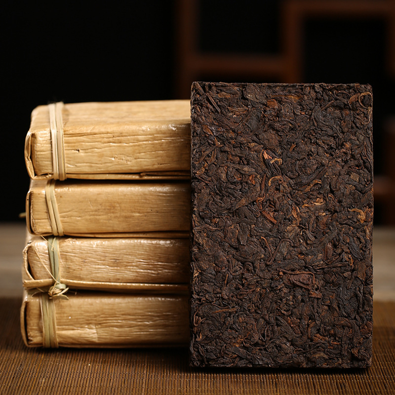 2008 Yr Chinese Tea 250g Yunnan Old Ripe Pu-erh Tea China Tea Health Care Pu'er Tea Brick For Weight Lose Tea