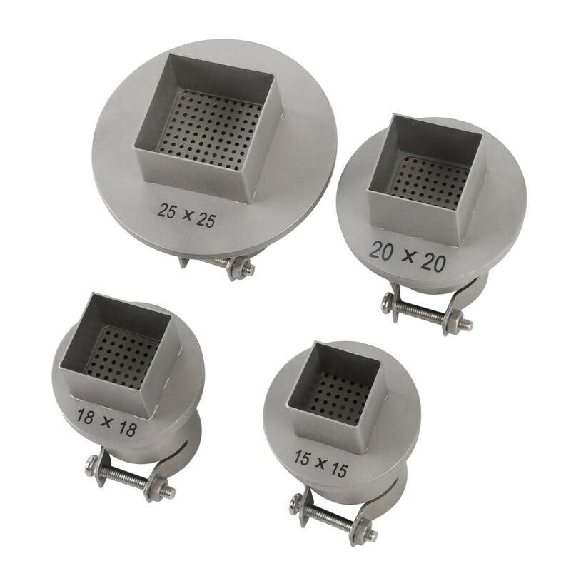 4PCS Universal 850 Nozzle Soldering Station Hot Air Stations Gun Nozzles For SAIKE ATTEN 852D+ 850 909D 950 Welding BGA Nozzles