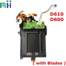 Second hand For Nikon D610 Shutter Unit with Blade Curtain Motor Assembly For Nikon D600 Camera Repair Spare Part