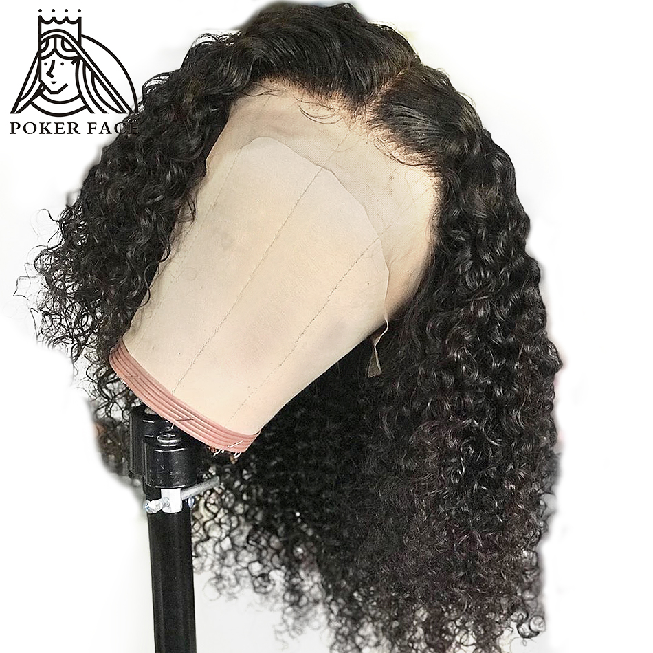 Jerry Curly Lace Front Human Hair Wigs 13x4 Lace Frontal BOB Wigs With Baby Hair Short Bob Wigs For Women Pre-Plucked Wig