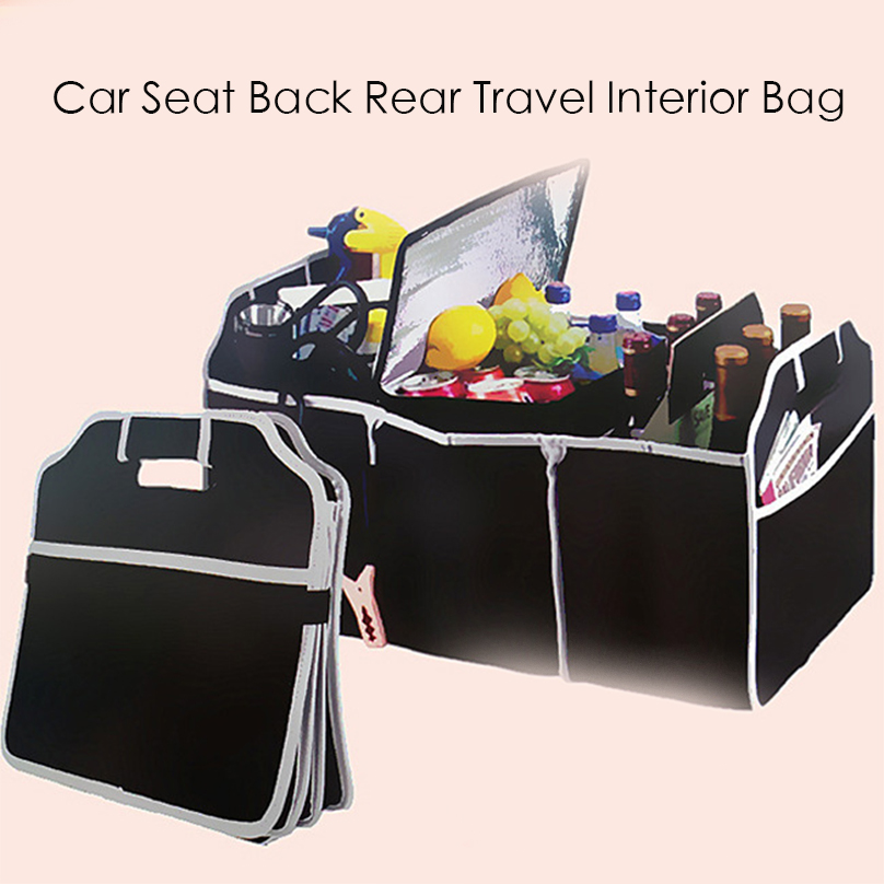 Car Seat Back Rear Travel Interior Bag Hanger Accessory Storage Organizer Holder