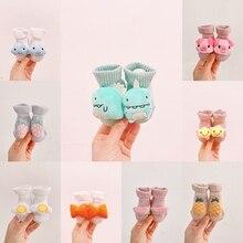 Boy Socks Baby Stuff Newborn Toddler Children Cartoon Cute 0-8M Splicing Applique New-Fashion